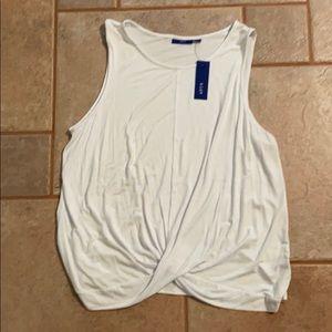 🆕 APT. 9 white sleeveless top size XXL